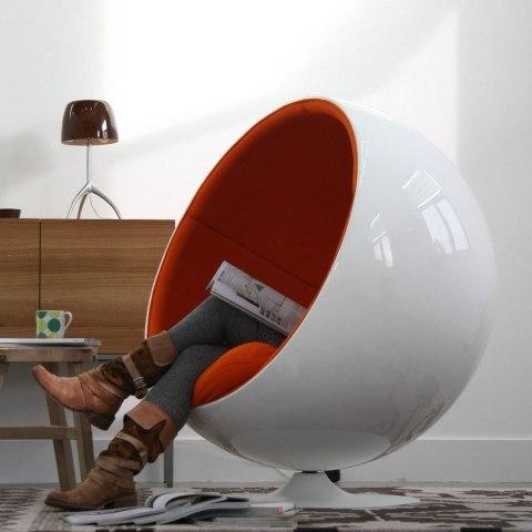 fotel ball wnętrza