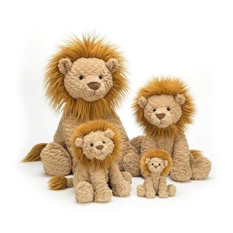 Lew z rodziną