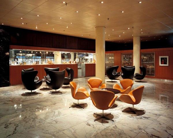 fotel jajo w hotelu Royal Kopenhaga