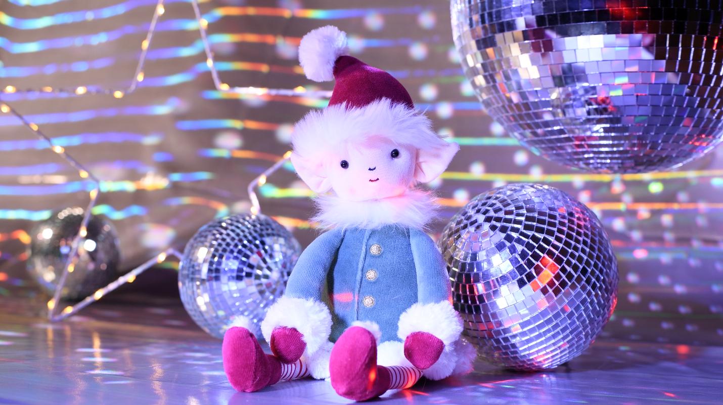mikołaj maskotka jellycat